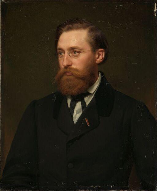 Portrett av Hans Gude