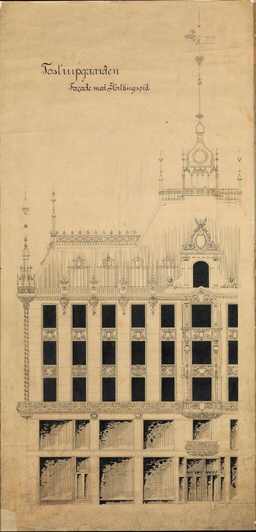 Design for the Tostrup Building