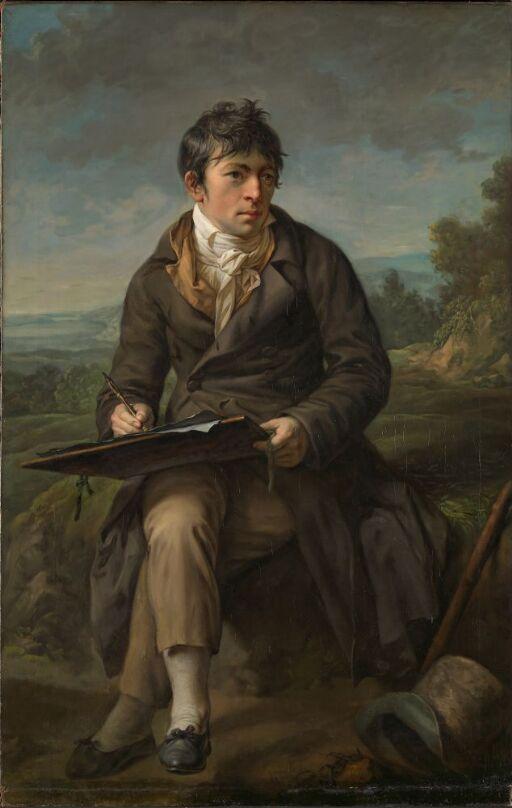 Portrait of the Landscape Painter Carl Anton Graff