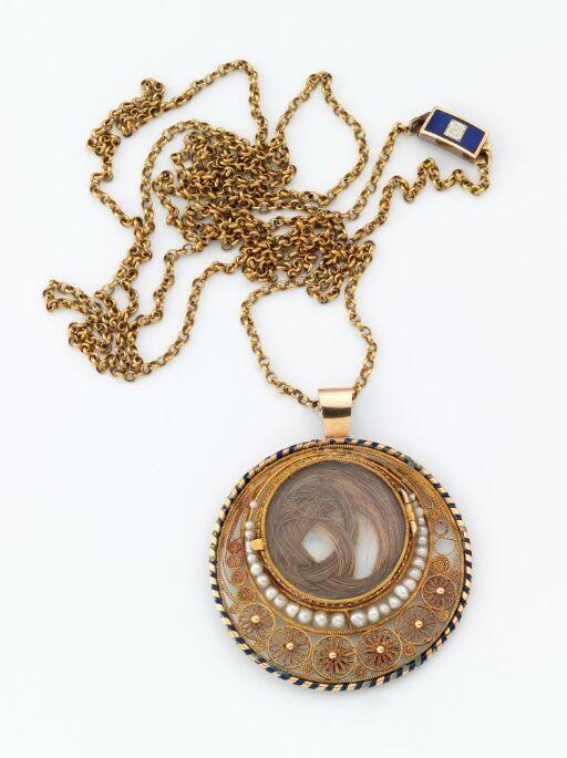 Medaljong, smykke