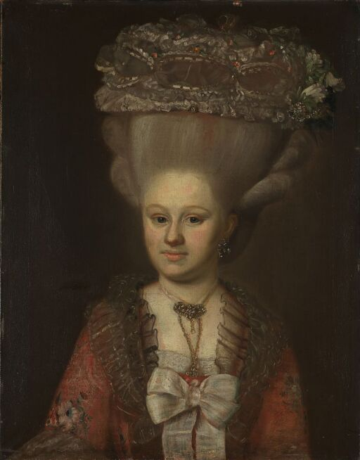 Portrett av Hulleborg Hielm, født Abel