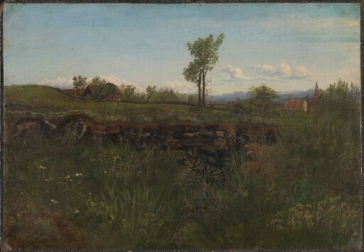 Landscape Study from the Environs of Carlsruhe