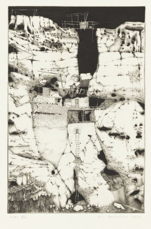 Mytologisk landskap VIII