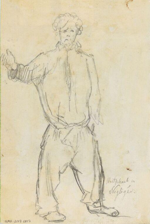 Fritz Westphal i neglisjé