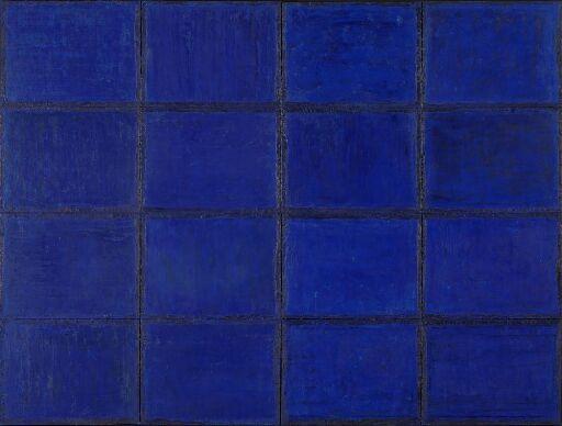 # 12 Paysage (blå) x 16