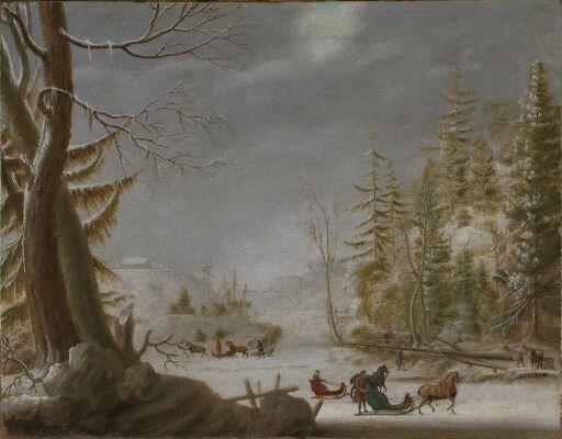 Norsk vinterlandskap
