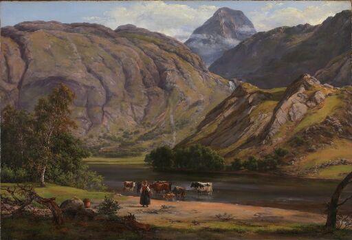 Fra Isdalen ved Svartediket nær Bergen