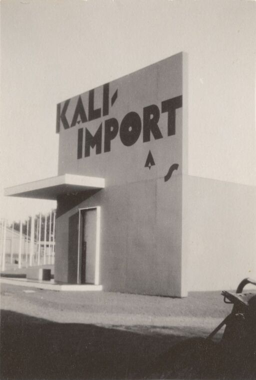 Exhibition pavilion for Kali-import A/S