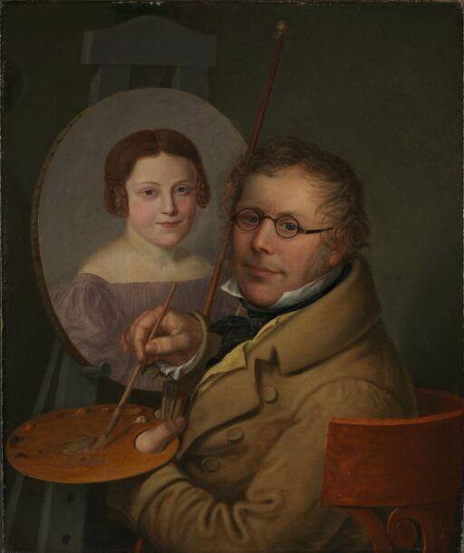 Portrett av Sophie og Jacob Munch