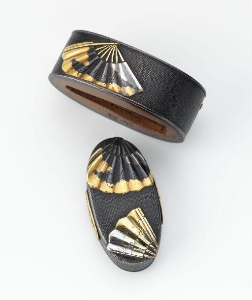 Fuchi-kashira ornamental fittings