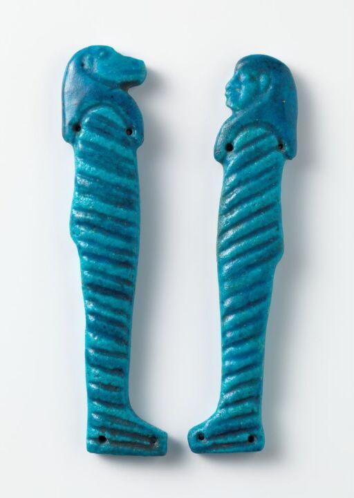 Amuletter, gudene Hapi og Imsety