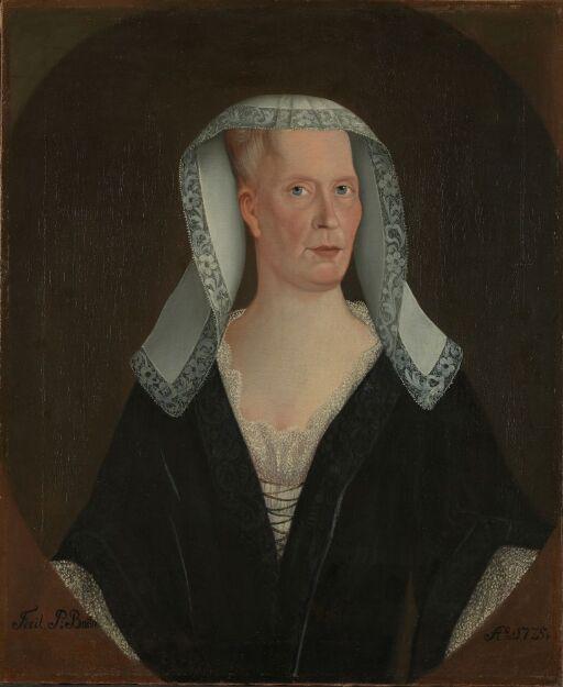 Fru sogneprest Maren Lemvig, f. Stoltenberg