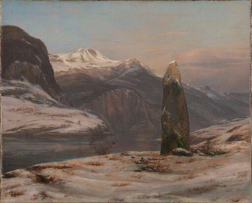 Vinter ved Sognefjorden