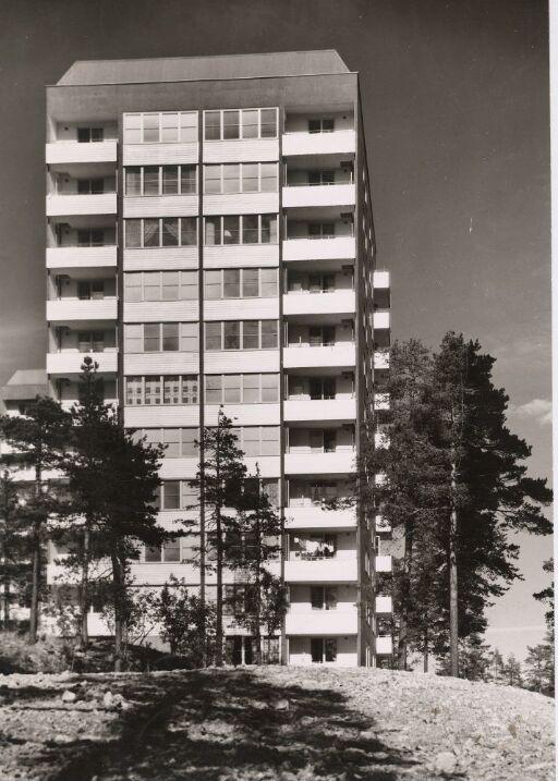 High-rise building at Tonsenhagen