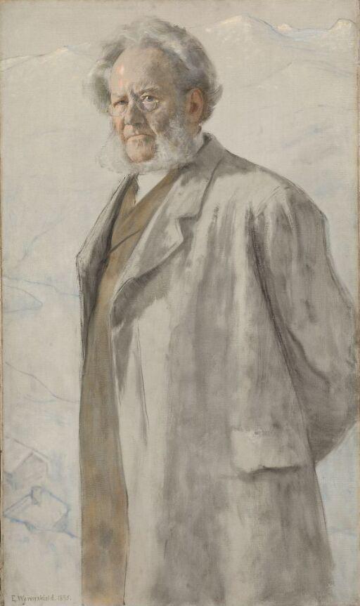 Dikteren Henrik Ibsen
