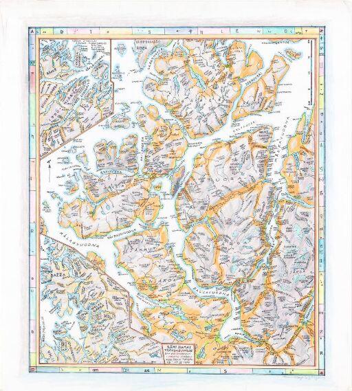 Sámi namat Tråm'sa guovllos (Stedsnavn i Troms)