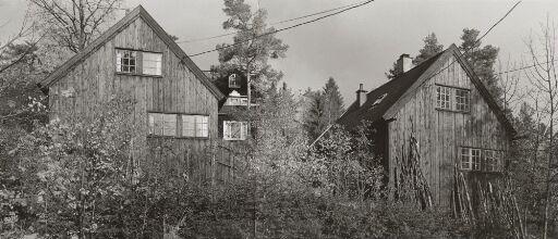 Twin houses in Skådalen