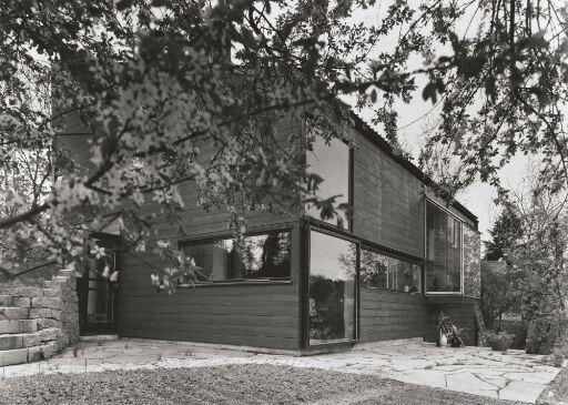 Arkitekt Fredrik Torps eget hus