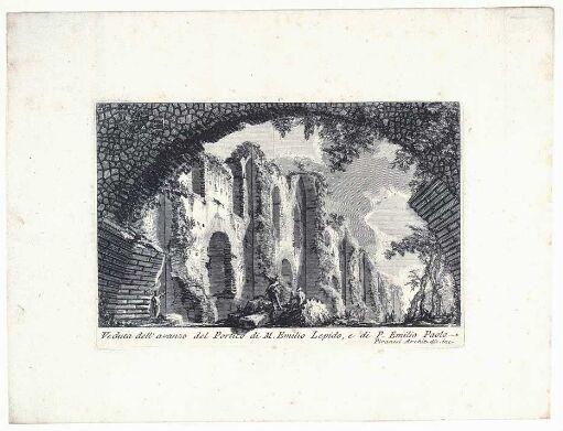 Levningene av M. Aemilius Lepidus' og P. Aemilius Paulus' porticus