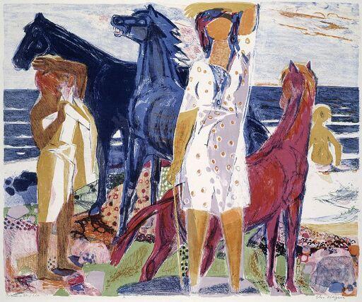 Blå hester