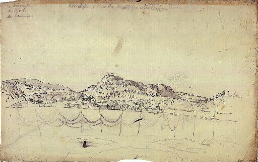 Utsikt mot Bærum fra Nesoddtangen