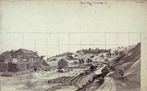 Porsnesfossen i Tistedalen