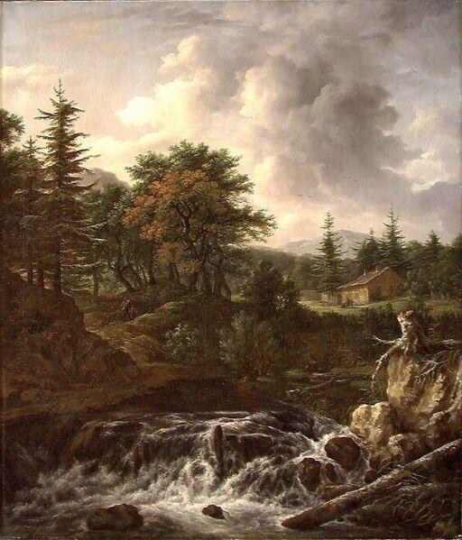 Copy of Landscape by J. Ruisdael