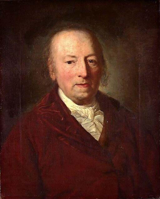 Portrett av Freiherr von Lindemann-Just