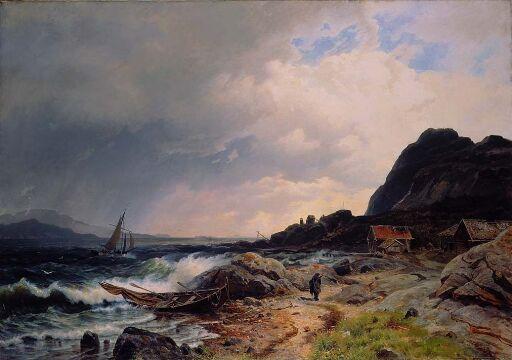 Ved Hardangerfjordens utløp