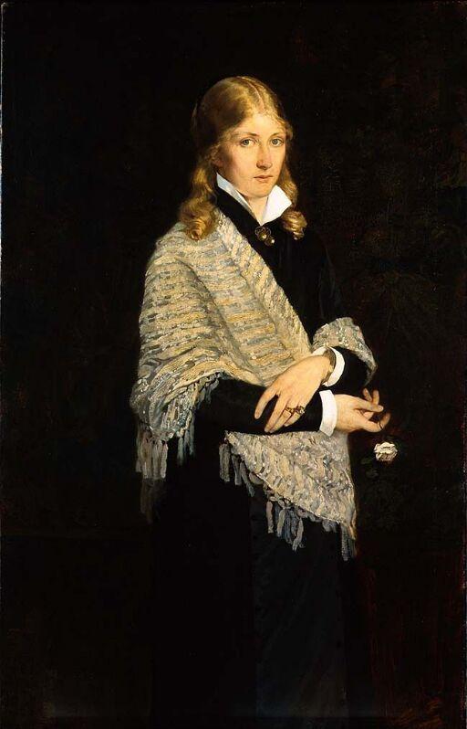 Portrait of the Painter Andrea Gram