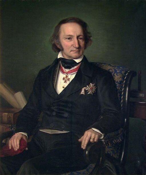 Portrait of Professor Christopher Hansteen