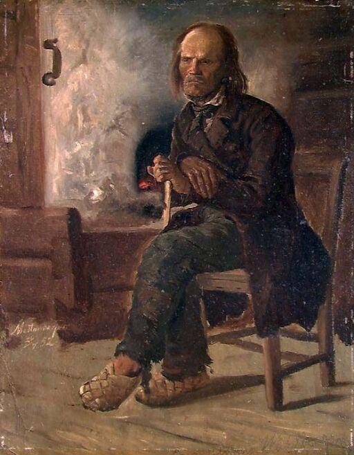 Mann fra Finnskogen i Värmland
