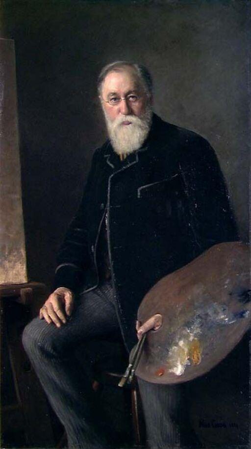 Portrait of the Painter Hans Gude