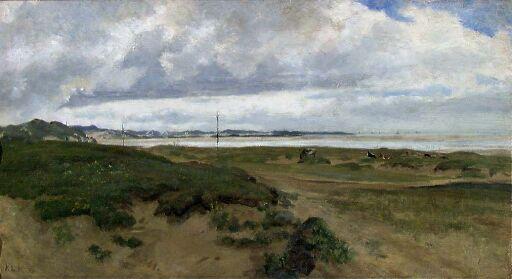 Landscape from Ogna at Jæren