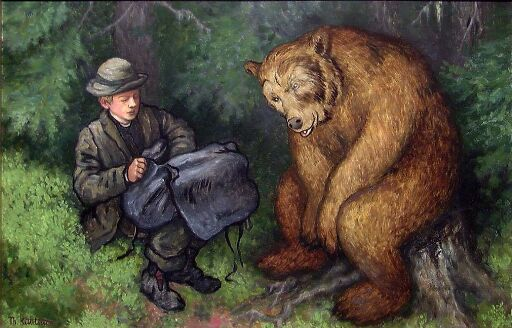 The Ash Lad and the Bear