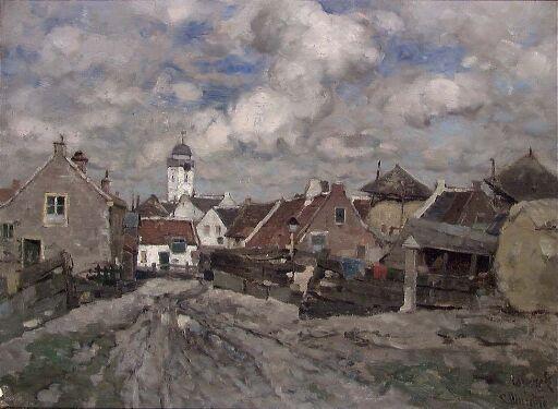 Hollandsk landsbygate
