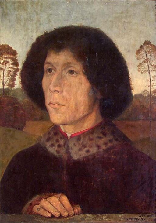 Copy of a Portrait by Memling