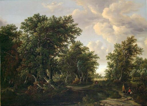 Copy of Landscape by M. Hobbema