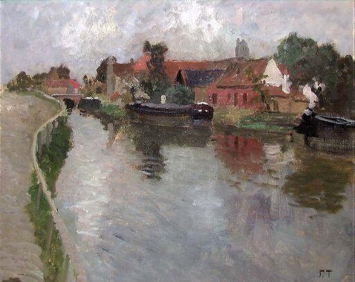 Canal in Volendam