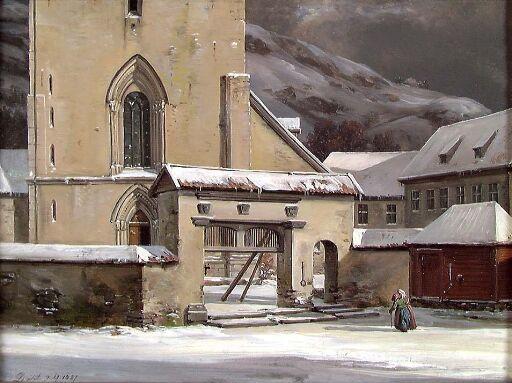 Inngangspartiet, Domkirken i Bergen