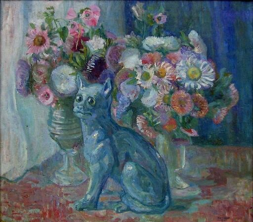The Faience Cat