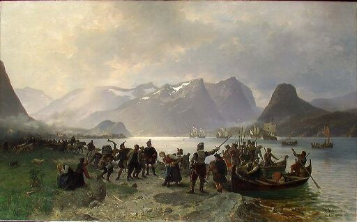 The Landing of Sinclair in Romsdal