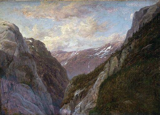 The Mountain Jordalsnuten in Sogn