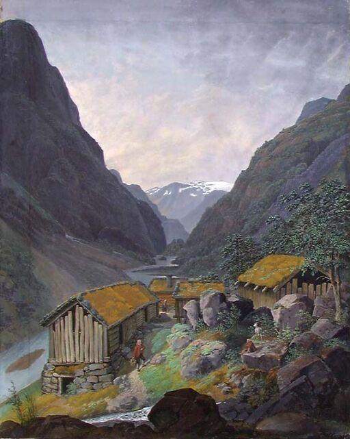 Hjølmodalen i Eidfjord