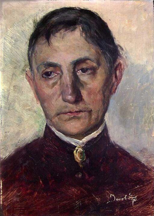 Johanne Kielland Sømme, kunstnerens mor