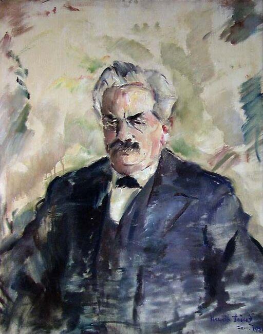 Den franske president Alexandre Millerand