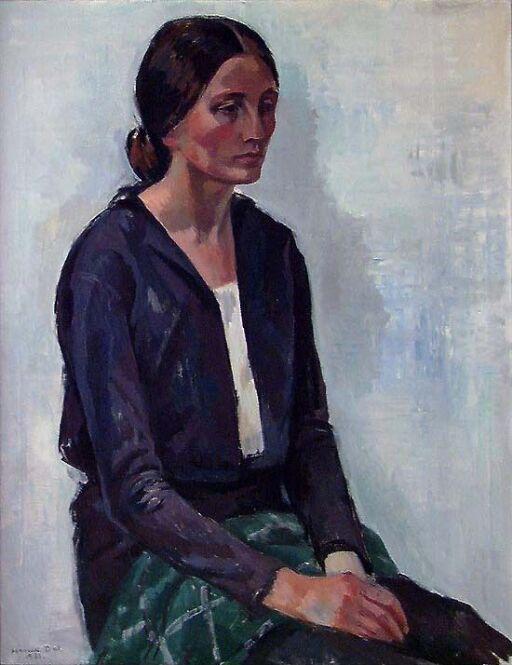 Kunstnerens hustru