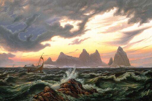 Øen Trænen i Nordland