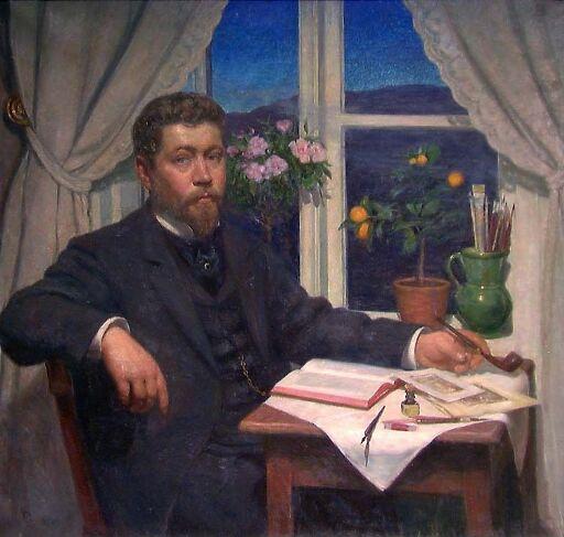 Maleren Wilhelm Wetlesen