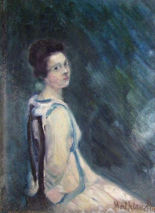 Mox, kunstnerens datter